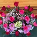 교회 꽃 헌신